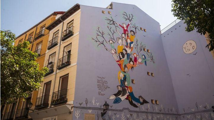 """Mural """"Mujeres árbol"""""""
